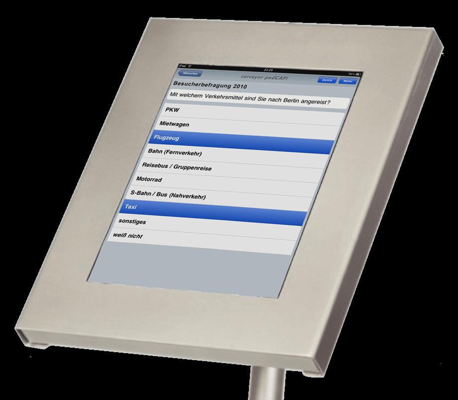 iPad-Terminal im Detail