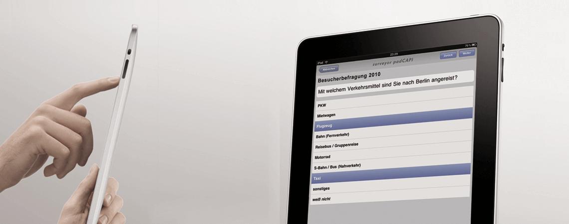 iPad-Befragung